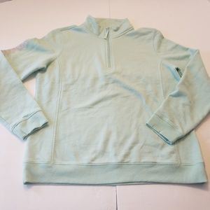 Vineyard Vines Women's Pullover Mint Green Quarter